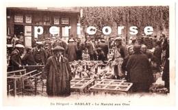24  Sarlat  Le Marché Aux Oies Buvette Et Articles  Et Pêche - Sarlat La Caneda