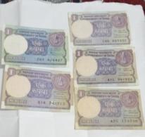 Circulated..India Inde 5  Notes - India