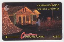 Cayman Islands GPT Phonecard (Fine Used) Code 10CCIA - Kaimaninseln (Cayman I.)