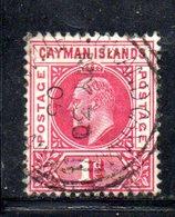 APR110 - CAYMAN 1902, Yvert N. 4  Usato  (2380A)  Fil CA - Cayman (Isole)