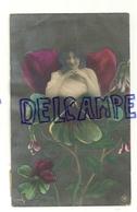Photographie Montage. Jeune Femme Dans Un Fleur (pensée). 1921 - Illustrateurs & Photographes