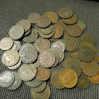 56 Portuguese Reis Coins D. Luiz And D. Carlos - Munten & Bankbiljetten
