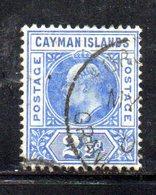 APR382 - CAYMAN 1905, Yvert N. 10  Usato  (2380A)  Fil  Multi CA - Cayman (Isole)