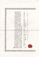 Je Ne Sais Pas Ce Que C'est,,il Y à Ecrit JERUSALEM,ecrit Année 1852,lire Description(lot 114) - Documentos Históricos