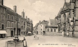 LA FERTE BERNARD ( 72 ) - La Place Carnot - La Ferte Bernard