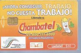 LADATEL 30 -  CHAMBATEL  - Puce ? - MEXIQUE - Mexique