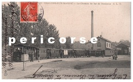 51  Chalons Sur Marne La Gare Chemin De Fer De Banlieue - Châlons-sur-Marne