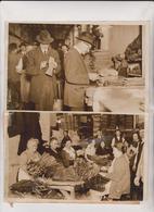 USA SHOE FACTORY 1917  WWI FABRIQUE CHAUSSURE SHOEMAKER Schuhmacher ZAPATERO 25*20CM Fonds Victor FORBIN 1864-1947 - Profesiones