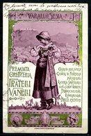 CV2745 PUBBLICITARIE, 1917, Varallo Sesia, Premiata Oreficeria Fratelli Vanelli, FP, Viaggiata Per Longone Al Segrino, B - Advertising