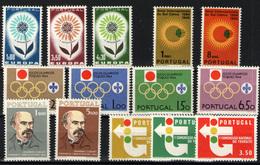 Portugal Nº 949/57.  Año 1964/65 - 1910 - ... Repubblica