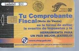 LADATEL 50 -  TU COMPROBANTE  - Puce ? - MEXIQUE - Mexique