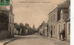 LA FRESNAYE SOUS CHEDOUET  ( 72 ) - La Rue Principale - Other Municipalities