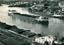 STRASBOURG Port Autonome  Avan-Port Nord  Avec Péniche  Photo Véritable Sato - Strasbourg