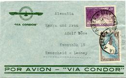 (e1164) Brief Argentinien St. Buones Aires N. Remscheid - Argentinien
