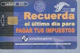 LADATEL 30 -  RECUERDA  - Puce ? - MEXIQUE - Mexique