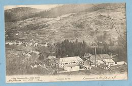 A114  CPA  CORNIMONT  (Vosges)  Panorama Du Bâs  - Usine  ++++++ - Cornimont