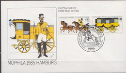 Germany Pair On FDC From 1985 - Post