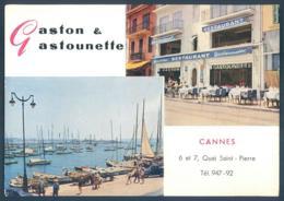06 CANNES Quai Saint-Pierre Gaston Et Gastounette - Cannes