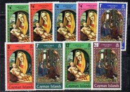 APR1864 - CAYMAN 1969,  Serie Yvert N. 244/252  ***  MNH   (2380A)  Natale Christmas Noel - Cayman (Isole)