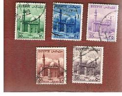 EGITTO (EGYPT) - SG 423.428  - 1953  SULTAN HUSSEIN MOSQUE   - USED ° - Usati