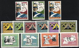 Portugal Nº 891/3, 898/907  Año 1962 - 1910 - ... Repubblica
