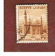 EGITTO (EGYPT) - SG 426  - 1957 SULTAN HUSSEIN MOSQUE 37  - USED ° - Usati