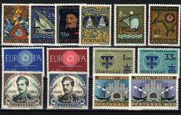 Portugal Nº 873/82, 884/7. Año 1960/61 - 1910 - ... Repubblica