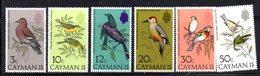 APR1867 - CAYMAN 1974,  Serie Yvert N. 324/329  ***  MNH   (2380A)  Uccelli Birds Oiseaux - Cayman (Isole)