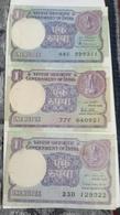 India Inde Circulated ..Notes - India