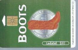 LADATEL 30 -  BOOTS  - Puce  GEM - MEXIQUE - Mexique