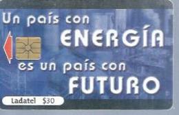 LADATEL 30 -  ENERGIA FUTURO  - Puce  GEM - MEXIQUE - Mexique