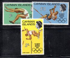 APR2097 - CAYMAN 1968,  Serie Yvert N. 204/206  ***  MNH   (2380A) - Cayman (Isole)