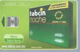 LADATEL 30 -  TABCIN NOCHE  - Puce  SC7 - MEXIQUE - Mexique