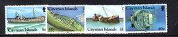 APR2098 - CAYMAN 1985,  Serie Yvert N. 551/554  ***  MNH   (2380A)  Naufragi - Cayman (Isole)