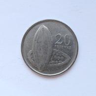 20 Pesewas Münze Aus Ghana Von 2007 (sehr Schön) III - Ghana