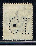 ITALIE 728 // YVERT 66 (PERFORÉ/PERFIN: CI) // 1901 - 1878-00 Humbert I