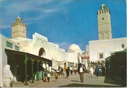 KAIROUAN. - Les Souks.  (scan Verso) - Tunisie