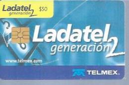 LADATEL 50 -  LADATEL GENERATION 2  - Puce  GEM - MEXIQUE - Mexique