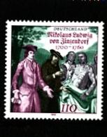 GERMANY/DEUTSCHLAND - 2000  N. L. VON ZINZENDORF  MINT NH - Nuovi