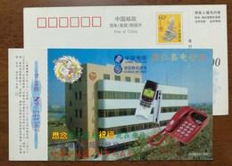 Nokia Cell Phone,fixed-line Telephone,China 2000 Jiangxi Congren Post And Telecommunications Bureau Pre-stamped Card - Telecom