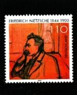 GERMANY/DEUTSCHLAND - 2000  F. NIETZSCHE  MINT NH - [7] République Fédérale