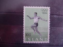 Islande 342 ** Jeux Olympiques De Tokyo. - 1944-... Republique