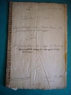 1708 ATTO NOTARILE CON TIMBRI GABELLA DODICI DENARI  REDATTO IN BURONZO (VERCELLI) - Manoscritti