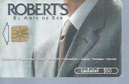 LADATEL 50 -  ROBERTS  - Puce  GEM - MEXIQUE - Mexique