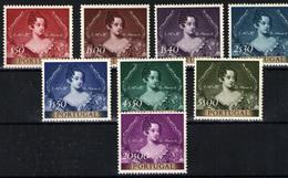 Portugal Nº 797/804. Año 1953 - 1910-... République