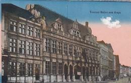 CPA Tournai - Halles Aux Draps - Feldpost Fussartill. Bataillon 56 - 1917  (42889) - Tournai