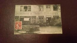 B10/carte Pas Courante-magasin De Vente De La Maison C. ROUX - Saint Etienne