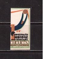 World Cup-1930, Uruguay,  Vignette , Football, Soccer, Fussball,calcio, MHN(**) - 1930 – Uruguay