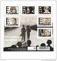 BLOC N° 4690 à 4695, Acteurs De Cinéma - Sheetlets
