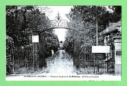 SAINT-BREVIN L'OCEAN - PENSION DE FAMILLE LE POINTEAU - ENTREE PRINCIPALE - Saint-Brevin-l'Océan